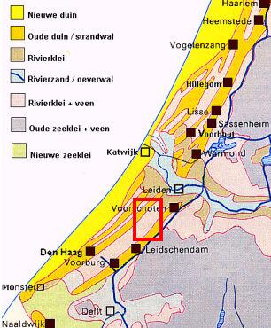 bodem kaart nederland