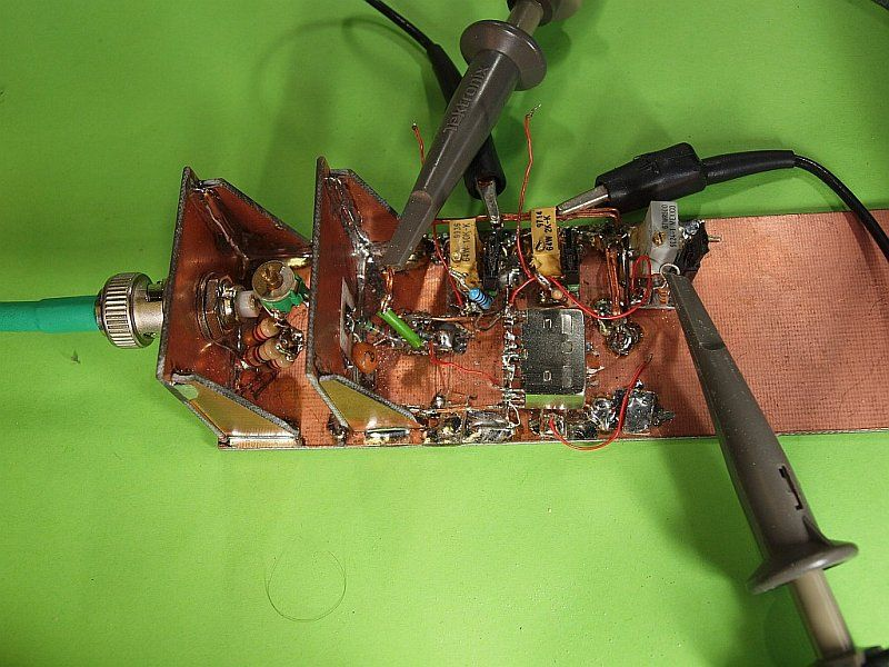 A measure setup for 455 kHz IF tranformers